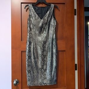 Trio New York Dresses - Trio New York Snake Skin Dress